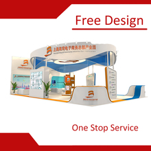 High Quality Wood Exhibition Stand Booth Contractor