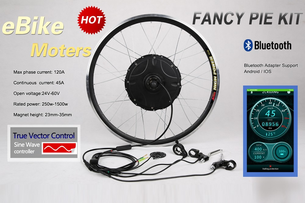 FANCY PIE ! MAX 35MM 1500W CONTROLLER BUILT-IN ELECTRIC BICYCLE MOTOR