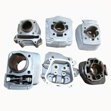 Chinese wholesale motorcycle parts steel,aluminium motorcycle cylinder