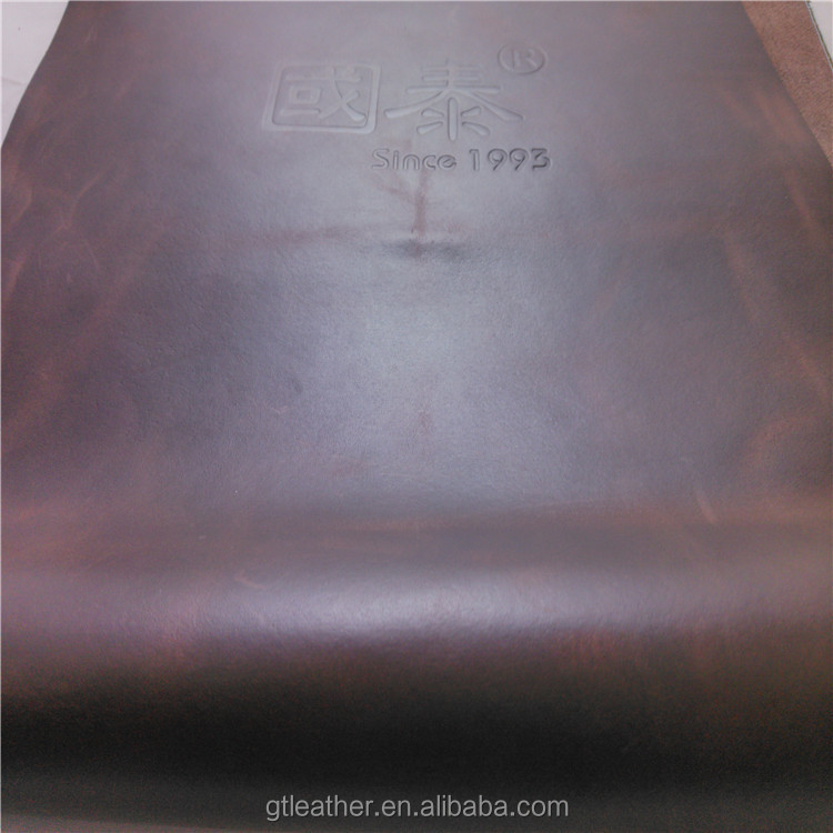 Cow pull up genuine leather rolls