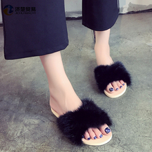 Wholesale plush shoes india sexy girls photos flip flop women slippers