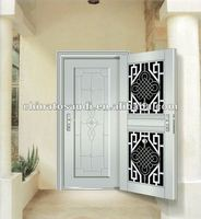 New elegent stainless steel storm doors for security