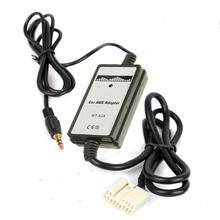 New 12V DC Car CD MP3 USB Interface Adapter Audio Music AU-in For Honda for Accord for Civic CRV 3.5mm