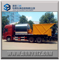 16 cbm high quality Asphalt Road Paving Trucks