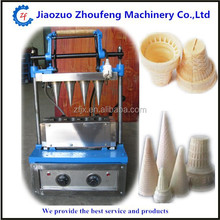 Hot Sale 4 Head ice cream cone making machine ice cream cone waffle maker cone icecream machine for sale