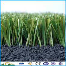 Best price S shape 100% anti-UV anti-aging synthetic football grass lawn artificial