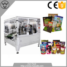 Stand up Pouch Ready made Bag Packing Machine, pick fill seal packing machine (ZH-GD8-200)