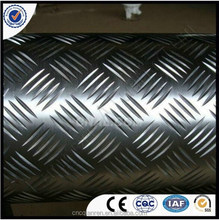 Best Price Aluminum Checker Plate 1050 3003 5052 for skid flooring