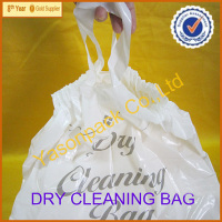 plastic bag for dry clean shop