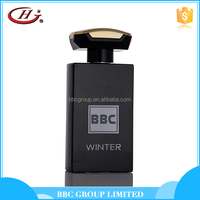 BBC Black Series-BL007 Hot products OEM black glass bottles spray male perfume
