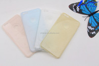 Silicone pure color smart phone case promotion color changing phone case