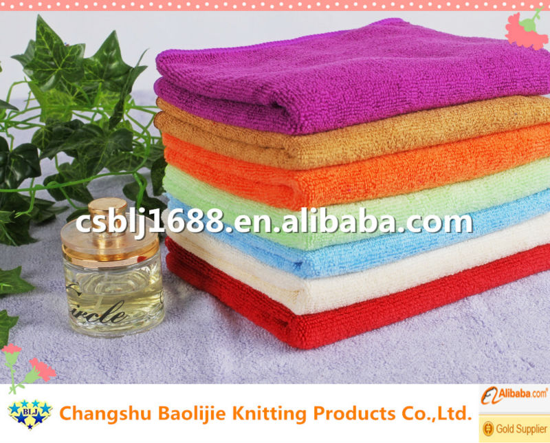 Microfiber Cleaning Cloth Towel With Private Label