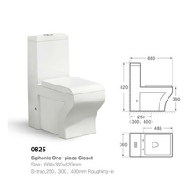 Best quality ceramic siphonic one piece muslim toilet