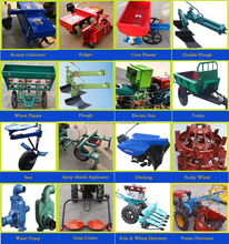 Hot Selling Agricultural 2 Wheel Farm Tractor For Farm Usage