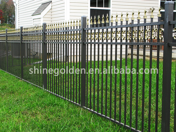 new arrival Brazil style wrought iron fence SG-15F005