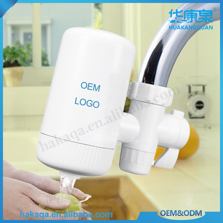 Home ceramic cartridge faucet water filter / plastic water tap filter