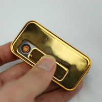 2013 wholesale new gift giveaways ideas USB rechargeable lighter