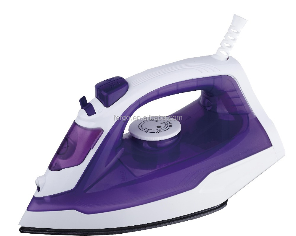 Ningbo factory electric iron PL-189 with steam spray burst function