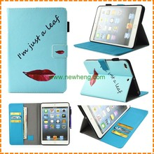 Customize print pu leather cover case for iPad Air 2