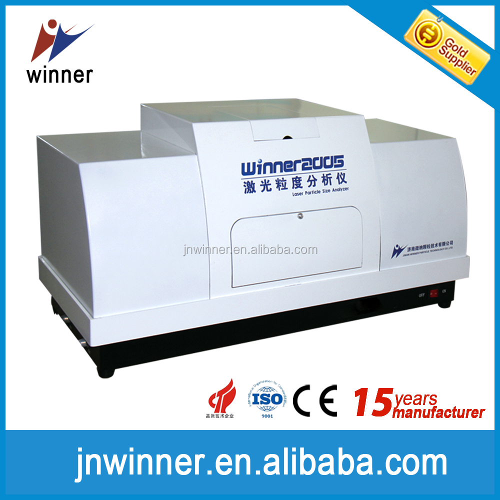 Winner 2005A full automatic Intelligent particle size analyzer for testing silica powders