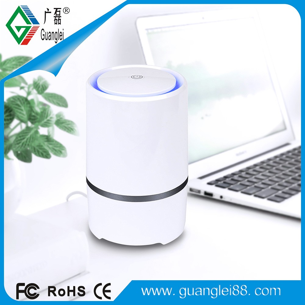 2017 China new product New Office OEM Desktop Aroma Diffuser USB Air Purifier
