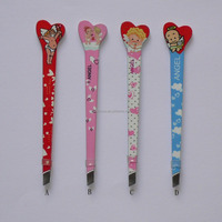 Cosmetic tweezers with angel printing