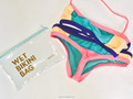 clear transparent pvc zipper pouch,wet bikini plastic packaging bags,bikini vinyl zipper pouches pvc