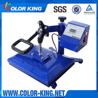 "9""x12"" Swing Design Plastisol Transfer Printer With Four Springs Digital Displayer Heat Press Machine"
