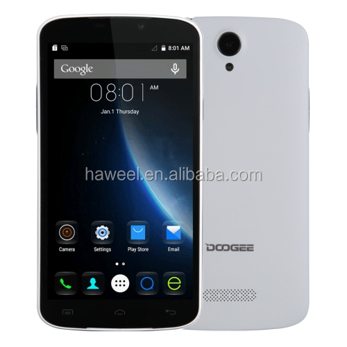 IN STOCK DOOGEE HOT SALE Original DOOGEE X6 5.5 inch HD screen Android 5.1 Smartphone RAM1GB ROM8GB(White)