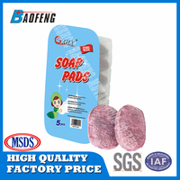 Kitchen Cleaning Steel Wool Soap Pad For Sale