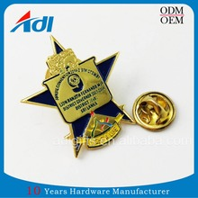 custom logo 3d airplane alloy stick badge lapel pins for sale