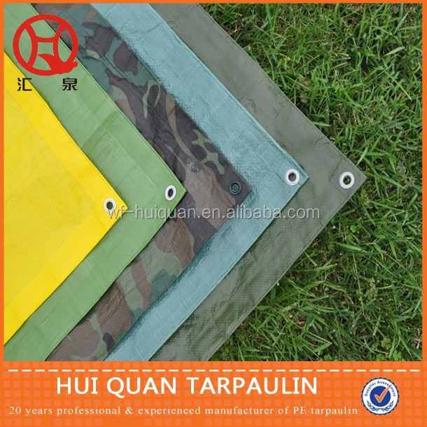 pe coated quality tarpaulin stock lot