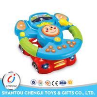 Wholesale plastic kids toys baby steering wheel toy