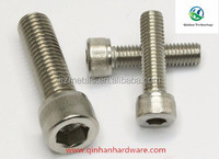 high quality DIN 912 hex socket pan head screw