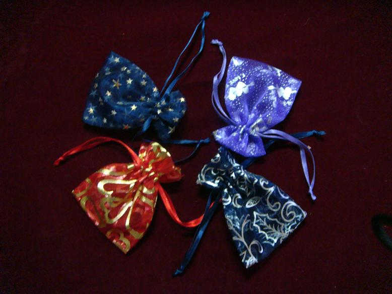 cell phone case, organza pouch