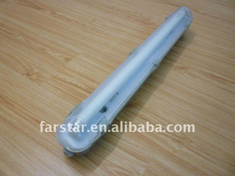 IP65 Waterproof Fluorescent Lighting Fixture for T8