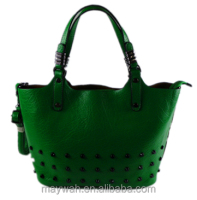 2016 Newest Luxury Green PU Lady Elegant Handbag
