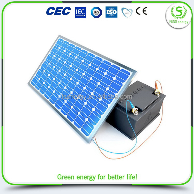 Custom wholesale bottom price 150w small pv module solar panel for led