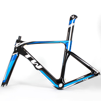 Beautiful carbon frameset 2017 aero carbon road bike frame r8 coming