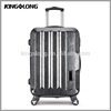 Aluminum metal suitcase 360 degree universal wheels travel luggage trolley bag