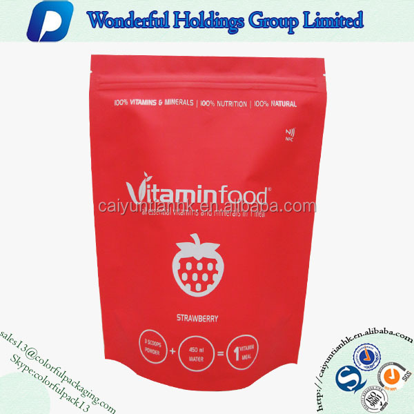 2016 Top new three-layer laminated food packaging aluminum plastic bags