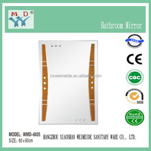 China Hot sale fresh design manufactuer 4 thickness bathroom mirror