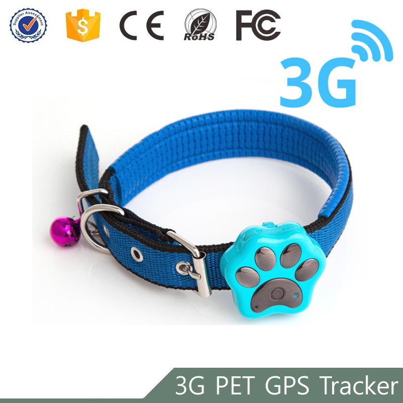 Manufacture cheap fitness monitor waterproof mini 3G pet tracker gps for pets