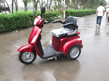 3 wheel electric mobility scooter/48V500W electric tricycle