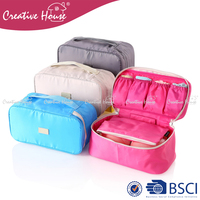 Universal Functional Travel Accessories Organizer Polyester Clothes Storage Underwear Bra Bag