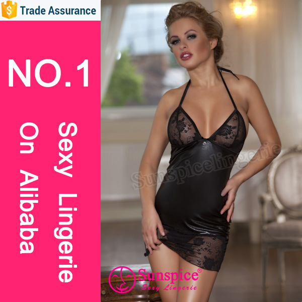 Sunspice sexy lingerie manufacturer fashion show sexy babydoll sleepwear nighty