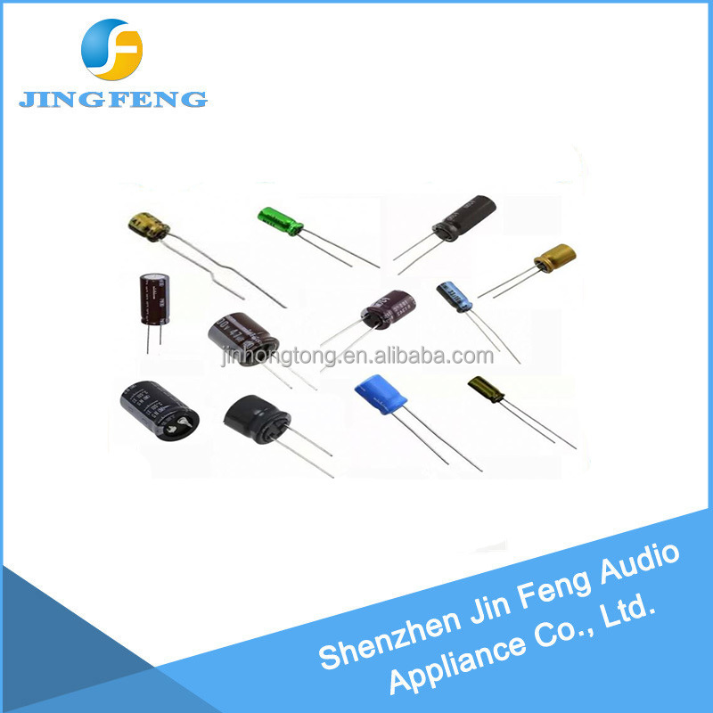 Direct factory price Car Audio Speaker parts electrolytic capacitor best supplyor