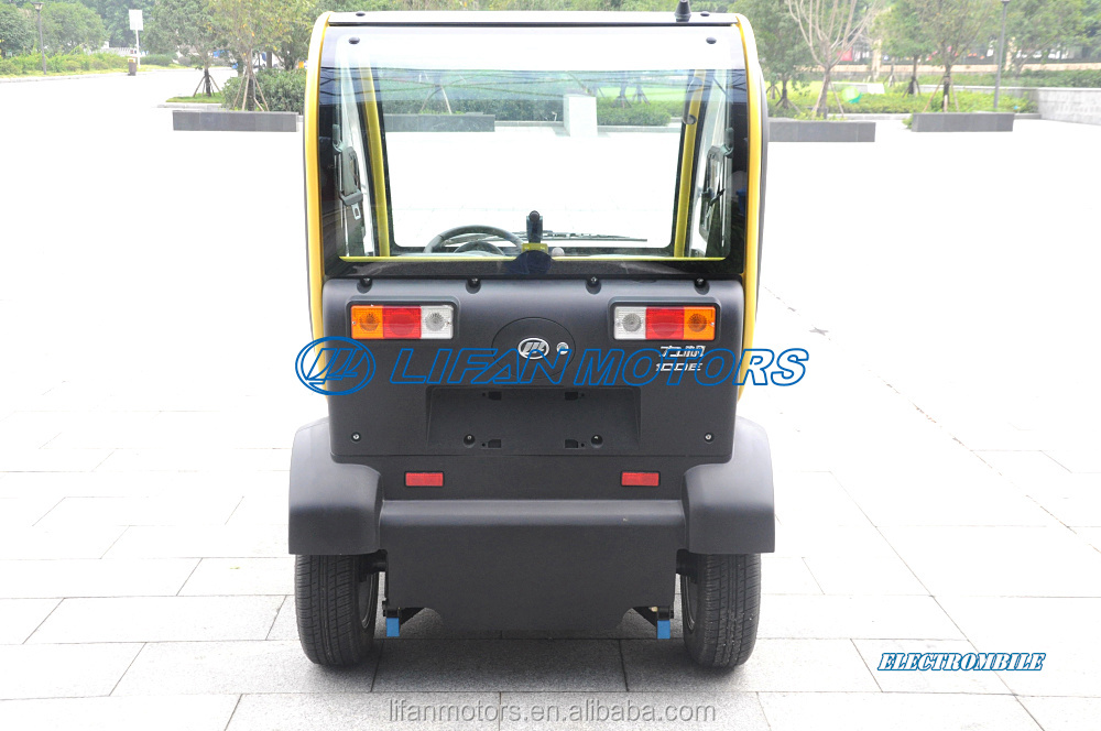 Two seats LHD or RHD electric car for sale made in china
