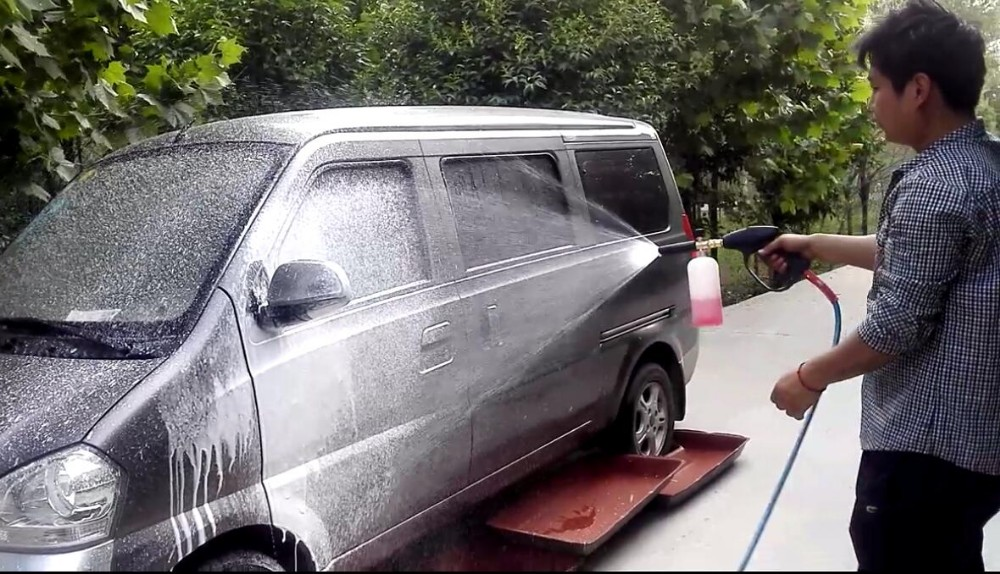 door to door car wash electric tricycle mounted high pressure mobile steam car wash machine