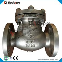 API6D Flanged Stainess Steel Swing Check